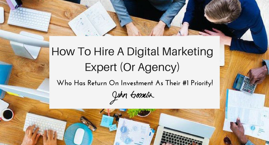 How To Hire A Digital Marketing Expert